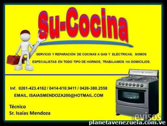 Tecnicos de hornos y cocinas.