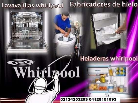 Servicio técnico autorizado lg whirlpool frigidaire, kitchinaid